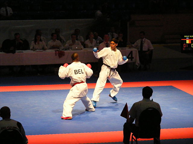 Karate - bron: Wikipedia.org